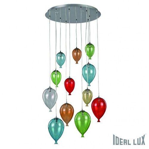 Ideal lux lampa wisząca clown sp12 color - 100951 (8021696100951)