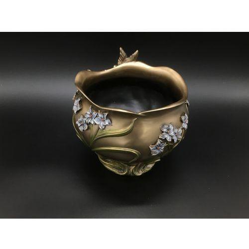 Secesyjna waza z motylem (an10414a4) marki Veronese