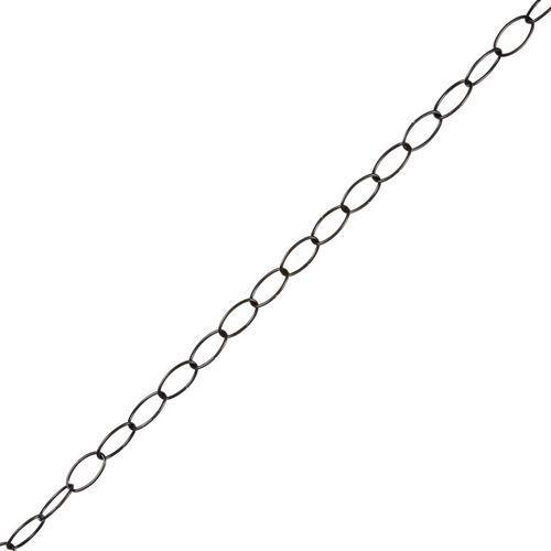 Łańcuch dekoracyjny Diall kwadratowy 2 2 mm x 1 5 m czarny (3663602920182)