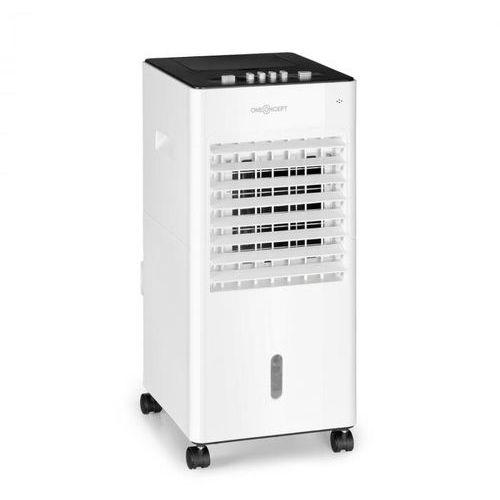 Oneconcept freshboxx, klimatyzator 3 w 1, 65w, 360 m³/h, 3 prędkości wiatru, biały (4060656224874)