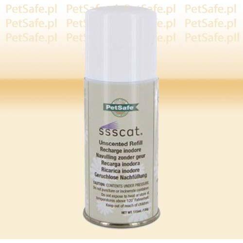Dodatkowy spray ssscat dla kota i psa marki Petsafe