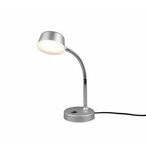 Trio rl kiko r52501187 lampa stołowa lampka 1x4w led tytanowa (4017807480993)
