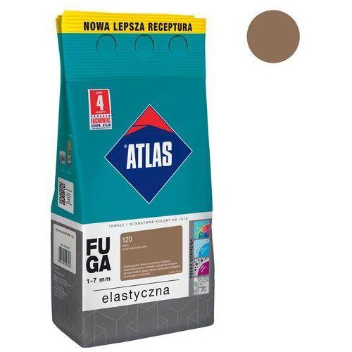 Fuga cementowa 120 toffi 5 kg marki Atlas