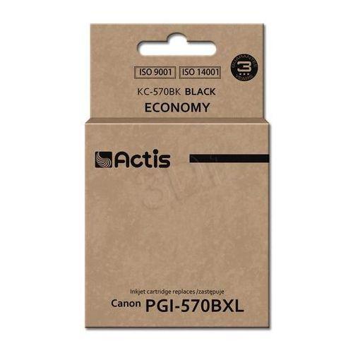 Actis kc-570bk tusz czarny do drukarki canon (zamiennik canon pgi-570bk) standard