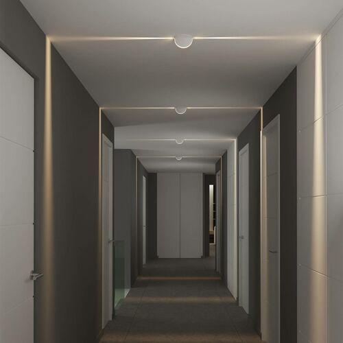 Lampa sufitowa wpuszczana spectra recessed, ip54 marki Acb iluminación