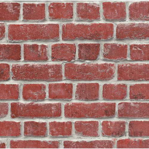 Tapeta ścienna RASCH Modern Surfaces 213614. cegłany mur, 213614