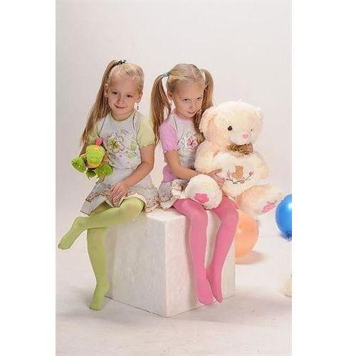 Rajstopy little lady art.ra 09 40 den 92-158 różowy pudrowy - różowy pudrowy marki Yo!