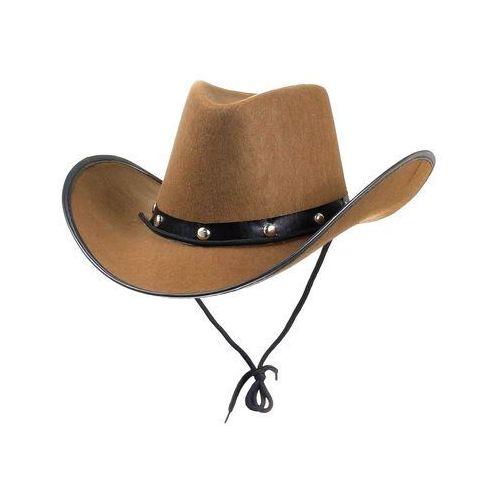"""Godan Kapelusz """"kowboj z texasu"""", brązowy,"""