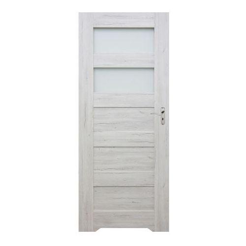 Drzwi z podcięciem Winfloor Emma 60 lewe silver