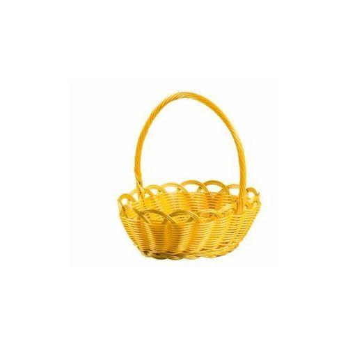 Koszyczek wielkanocny 21 x 18 cm żółty marki Hanmar