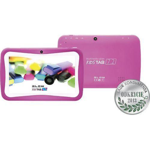 BLOW Tablet kidsTAB 7'' QUAD CORE PINK + etui, kolor różowy