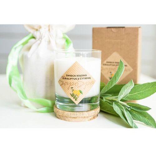 Świeca sojowa - Eukaliptus z cytryną + Sakiewka 200ml