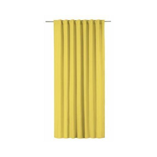 Zasłona pharell żółta 140 x 280 cm na taśmie marki Inspire