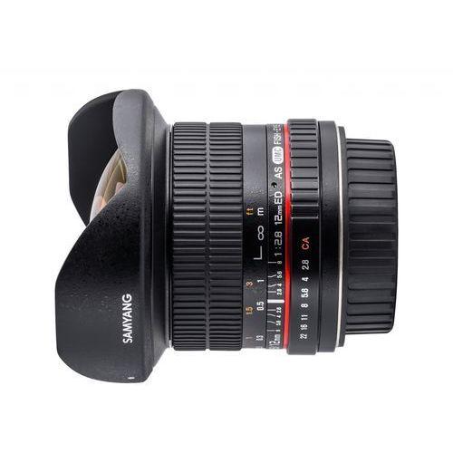 Samyang 12mm F2.8 ED AS NCS Fish-eye SONY - produkt w magazynie - szybka wysyłka!