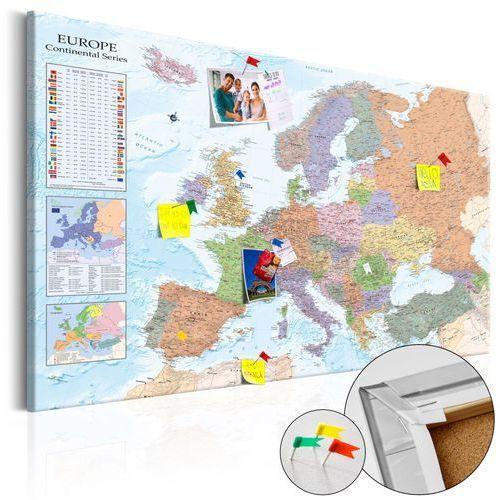 Artgeist Obraz na korku - mapy świata: europa [mapa korkowa]