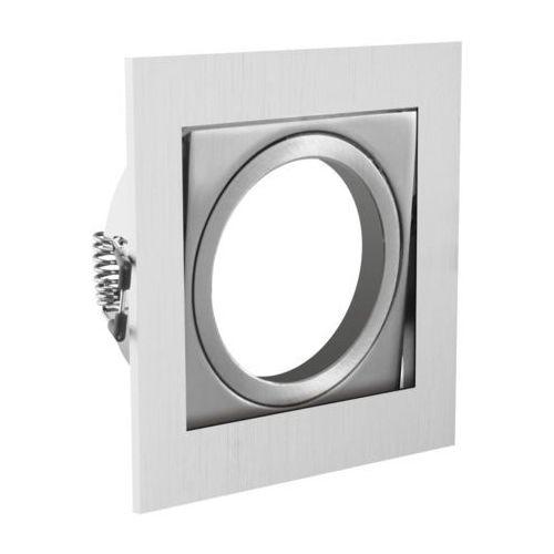 Gtv Oprawa sufitowa punktowa - kwadratowa uchylna aluminiowa vila inox op-vilakw-02 7532