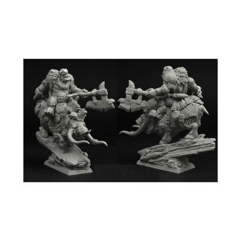 Scibor 28FM0191 - Orc Chief on War Boar 28mm