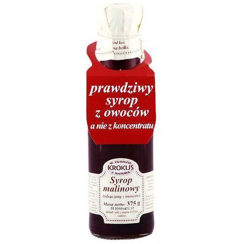 Syrop malinowy sok maliny 300ml (375g) -  wyprodukowany przez Krokus