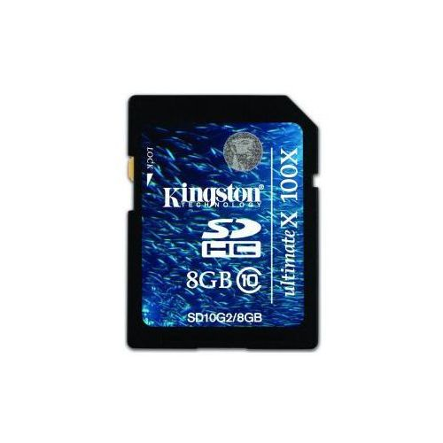 sdhc 8gb class 10 ultimate x karta pamięci marki Kingston
