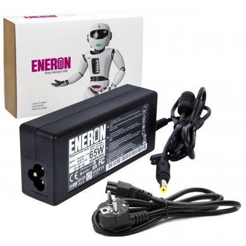 Zasilacz ładowarka do laptopa hp 530 550 620 625 hp 18.5v/3.5a, 4.8 x 1.7 mm + kabel marki Eneron