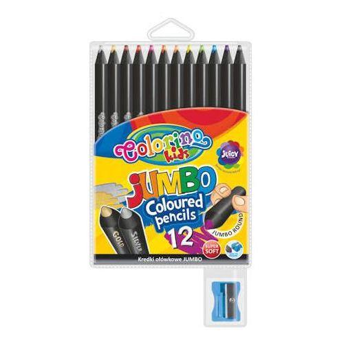 Kredki patio colorino jumbo czarne 12 kol x1 marki Kredki ołówkowe