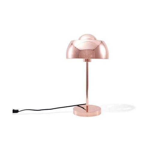 Lampa stołowa miedziana czerwień SENETTE (4260586357752)