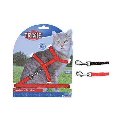 Trixie szelki dla kota odblaskowe 4183 (4011905041834)