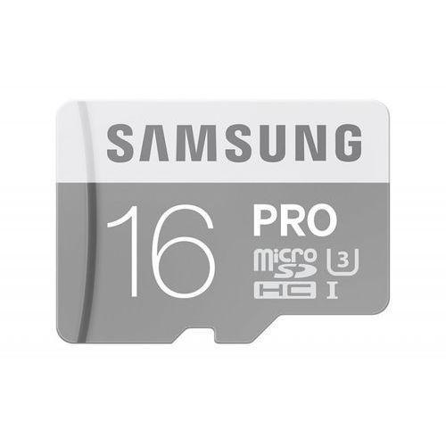 Samsung MB-MG16EA/EU 16G PRO mSD Class10+Adapter - sprawdź w wybranym sklepie