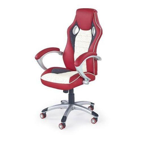 Style furniture Ventura fotel gamingowy dla graczy czerwono - kremowy