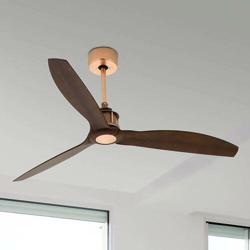Wentylator sufitowy Just Fan, miedź, orzech włoski (8421776117303)