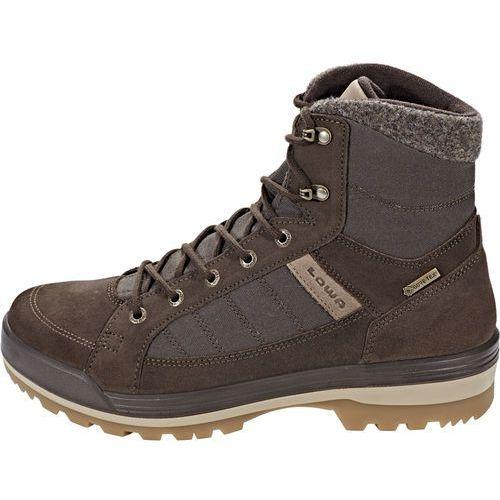 Nowe męskie buty isarco iii gtx mid dark brown rozmiar 42/mp 270mm marki Lowa