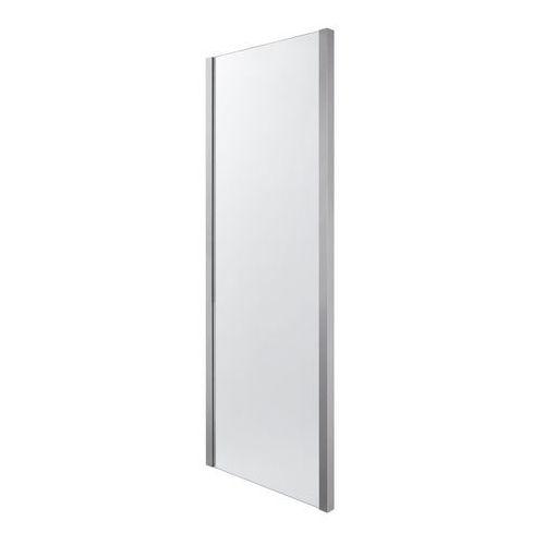 Ścianka prysznicowa zilia 90 x 200 cm inox/szkło transparentne marki Cooke&lewis