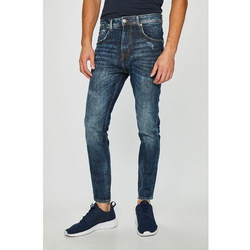 - jeansy charlie marki Guess jeans