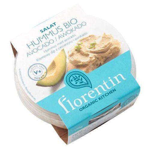 Hummus z avocado bio 170 g - florentin marki Florentin (humusy, falafel, pita, pasty bio)