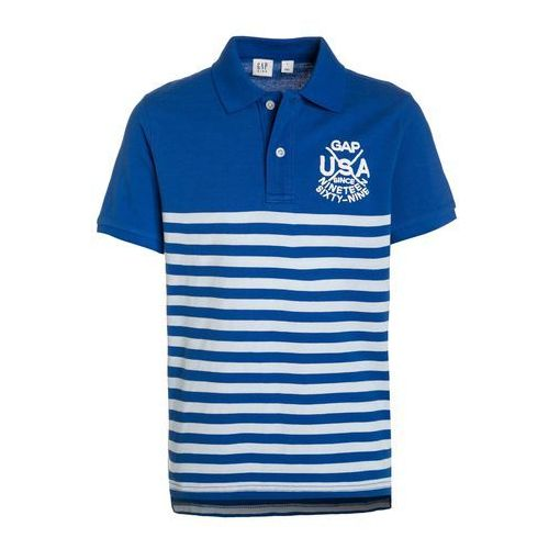 GAP Koszulka polo bristol blue