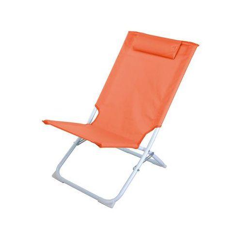 Składane krzesło plażowe PRO BEACH, leżanka ogrodowa