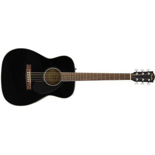Fender CC-60S Concert, Walnut Fingerboard, Black gitara akustyczna