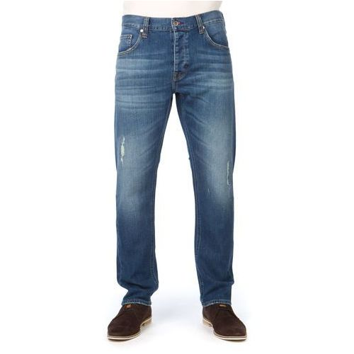 Mustang jeansy męskie Bonneville 34/32 niebieski, kolor niebieski