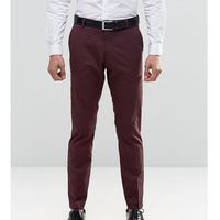 Selected Homme Suit Trousers with Stretch in Slim Fit - Red