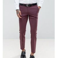 Noose & Monkey Wedding Super Skinny Suit Trousers - Red