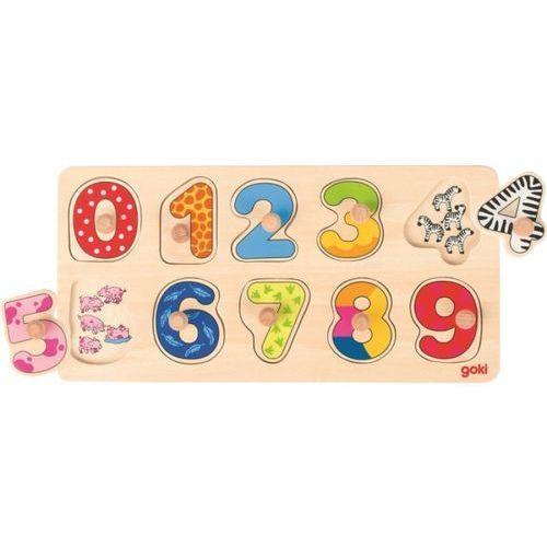 Goki Puzzle cyfry (4013594574808)