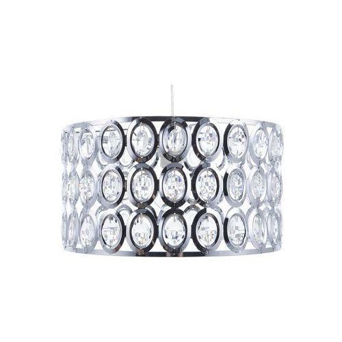 Beliani Lampa wisząca metalowa srebrna tenna s (4260586352306)