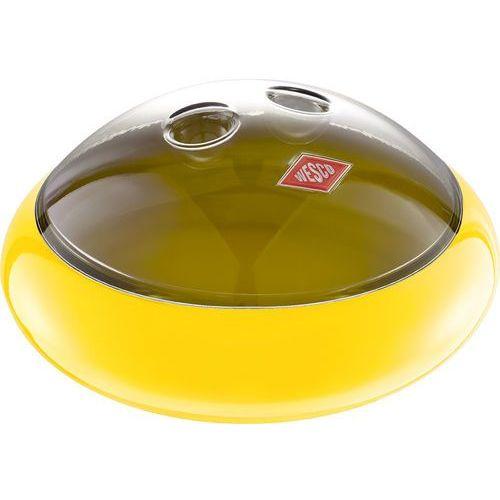Miseczka żółta z pokrywką na ciastka spacy peppy (223401-19) marki Wesco