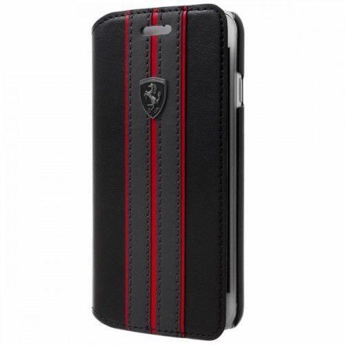 Ferrari Futerał book iphone x feurflbkpxbkr czarny