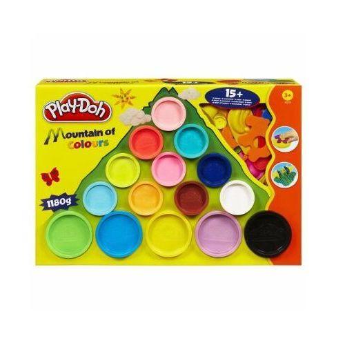 Play doh góra kolorów 15 tub 22570 marki Hasbro