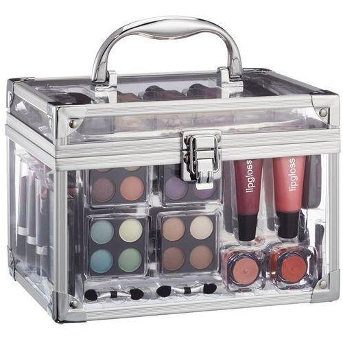 OKAZJA - Makeup trading schmink set transparent w kosmetyki zestaw kosmetyków complet make up palette (4038432006051)