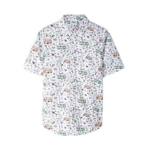 Top + tiulowa spódniczka (2 części) biel wełny - morelowy marki Bonprix