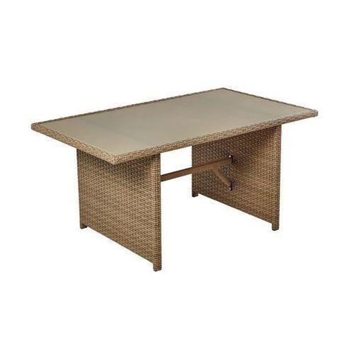 Stół ogrodowy PALERMO 140 x 180 cm NATERIAL