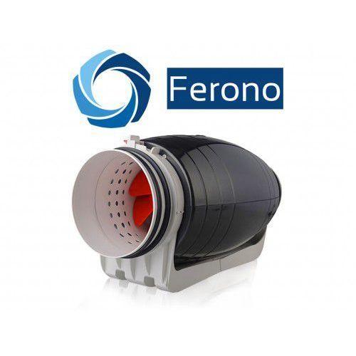 Wentylator kanałowy, plastikowy, cichy 150mm, 530 m3/h (fkp150sl) marki Ferono
