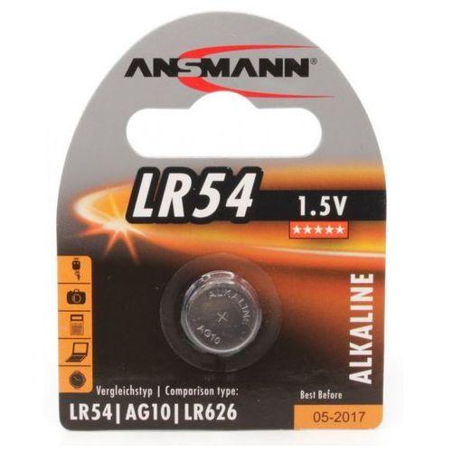Ansmann Bateria, LR 54, 1.5V (5015313) Szybka dostawa! Darmowy odbiór w 21 miastach! (4013674015313)